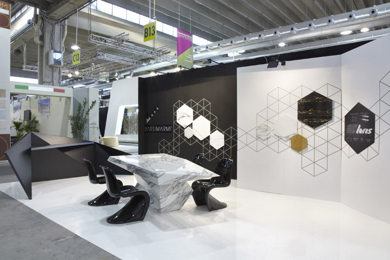 Isakidis At The Marmomacc Italy Exhibition